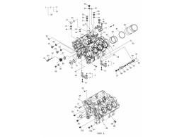 001 блок цилиндров/cylinder block