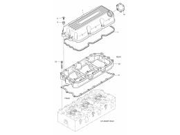 007 крышка головки блока цилиндров/cylinder head cover