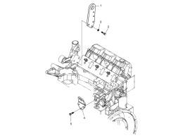 023 кронштейн подъема двигателя/lifting hook