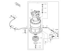 1200 Механизм поворота/SWING DEVICE