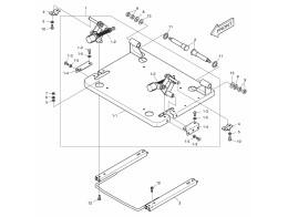 1440 основание сиденья/seat sliding plate