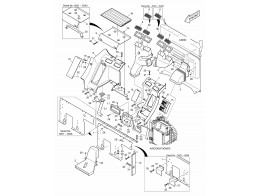 1490 воздуховоды системы отопления/heater cover