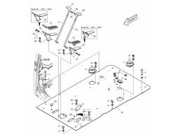 1560 панель пола/floor plate