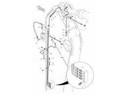 3160 Смазочные трубопроводы/LUBRICATION PIPING - ARM