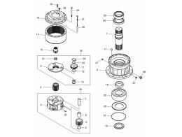 4150 Редуктор поворота/SWING REDUCTION GEAR