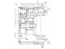 4160 Редуктор/TRAVEL REDUCTION GEAR