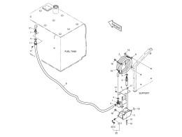 6100 Топливный насос/FUEL FILLER PUMP