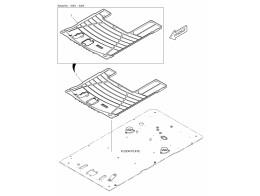6750 коврики пола/floor mat - two way