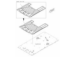 6770 коврики пола/floor mat - two way