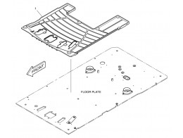 6780 коврики пола/floor mat - two way