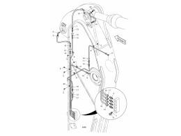 6810 Смазочные трубопроводы/LUBRICATION PIPING - ARM 2.6M