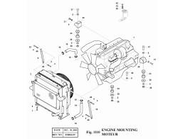 1110 Установка двигателя/ENGINE MOUNTING