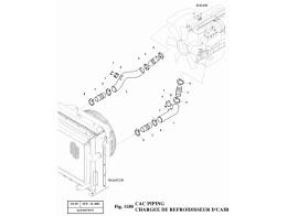 1150 Трубопроводы охлаждения/CAC PIPING