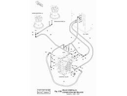 1320 Трубопроводы управления/PILOT PIPING(2) (SERIAL:1001~1019)