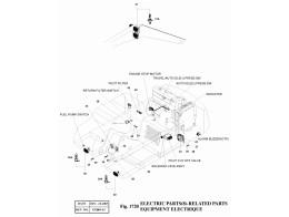 1720 Электрооборудование/ELECTRIC PARTS(8)-RELATED PARTS