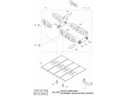 6260 Гусеница/TRACK SHOE-800G