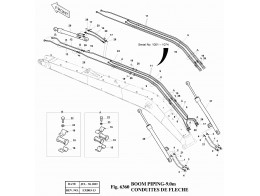 6360 Трубопроводы стрелы/BOOM PIPING-9.0m