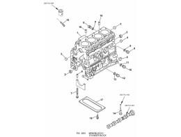 0201 блок цилиндров/cylinder block