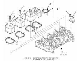 0109 крышка головки цилиндров/cylinder head covers (1/2)
