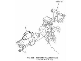 0605 стартер/starter motor (1/2)