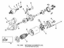 0690 стартер/starter motor (2/2)