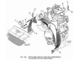 1230 Кожух вентилятора/FAN GUARD (FOR AIR CONDITIONER)