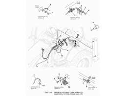 1440 Электрооборудование/ELECTRICAL SYSTEM (FRAME LINE)(1/2)