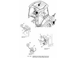 1450 Электрооборудование/ELECTRICAL SYSTEM (FRAME LINE)(2/2)