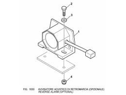 1630 Электрооборудование/REVERSE ALARM (OPTIONAL)