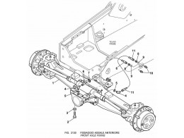 3130 установка переднего моста/front axle fixing