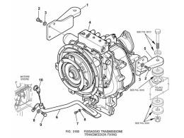 3160 установка трансмиссии/transmission fixing
