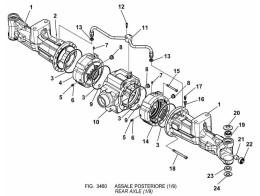 3460 задний мост/rear axle (1/9)