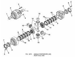 3475 задний мост/rear axle (4/9)