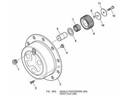 3500 задний мост/rear axle (9/9)