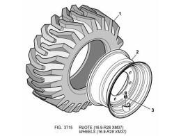 3715 колеса/wheels (16.9-r28 xm37)