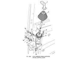 4220 управление/shovel control lever