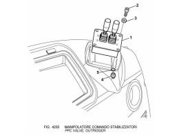 4250 управление/ppc valve, outrigger