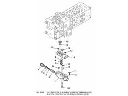 6186 гидросистема/8-spool control valve servocontrol (4/16)