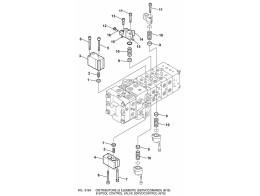 6194 гидросистема/8-spool control valve servocontrol (8/16)