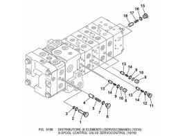 6198 гидросистема/8-spool control valve servocontrol (10/16)