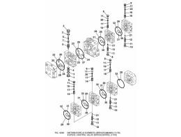 6200 гидросистема/8-spool control valve servocontrol (11/16)