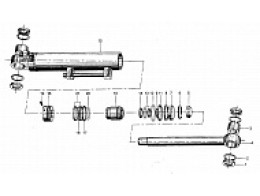 Гидравлический цилиндр рулевого управления XGYG01-004