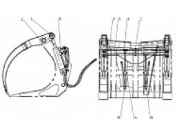 Гидролинии для дополнительного оборудования LW330F(II).37III.2