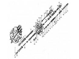 Гидрораспределитель рабочего оборудования DF25B2(30G)