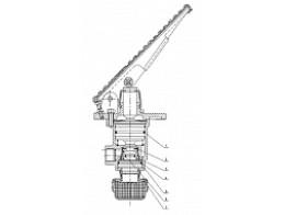 Главный тормозной управляющий пневмоклапан 300F