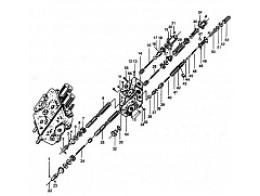 Блок клапана управления DF25B2