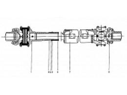 Главный приводной вал Z3.4.2