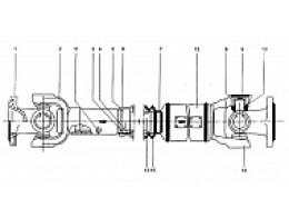 Передний приводной вал Z3.4.3