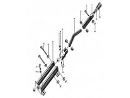 Рукоятка силовой установки ZL40.13.3A