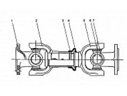 Задний приводной вал Z3.4.4A